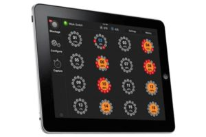 Intelligent Ag Recon Wireless Blockage & Flow Monitor on iPad