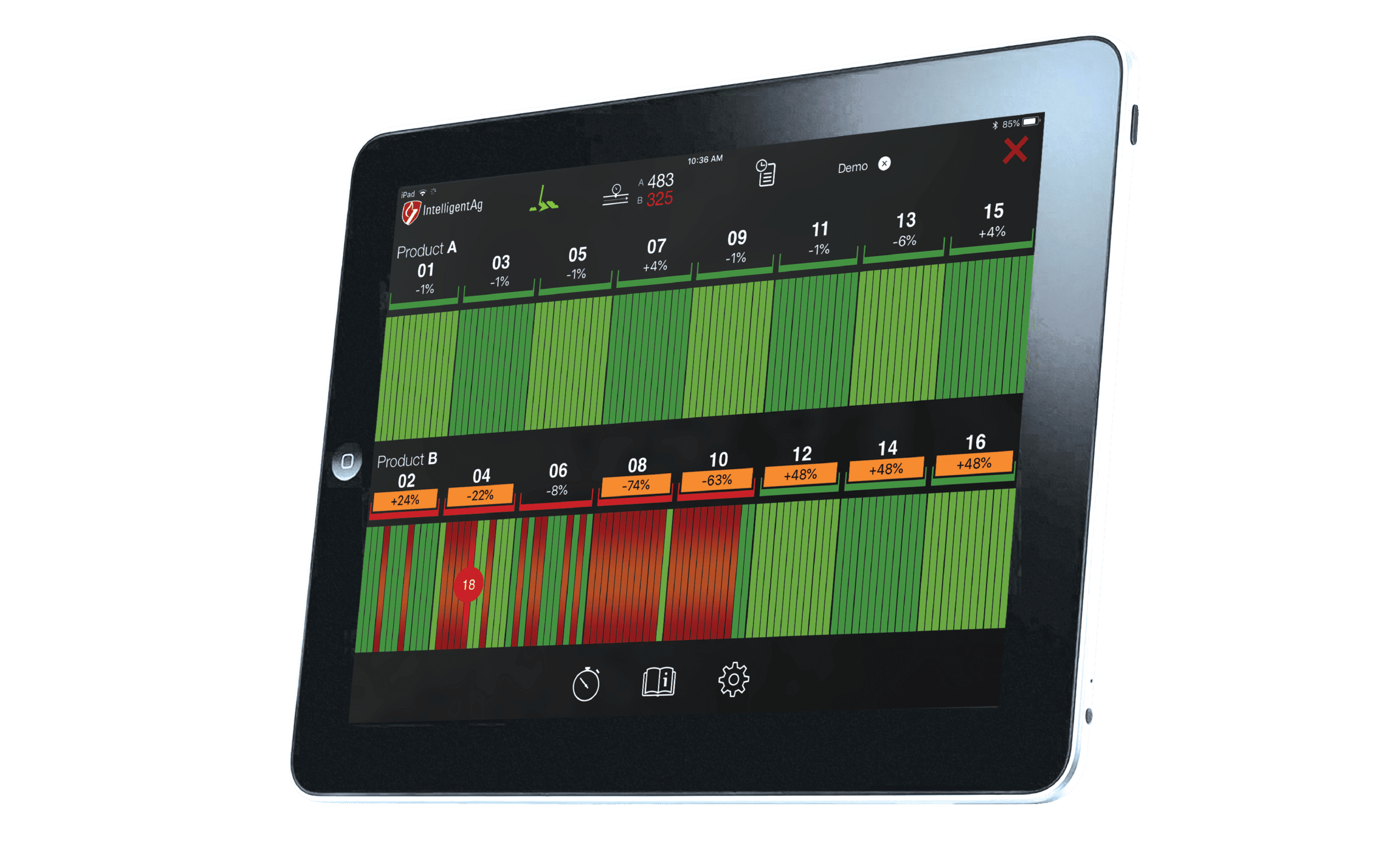 Intelligent Ag Wireless Blockage Monitor Red E Ag