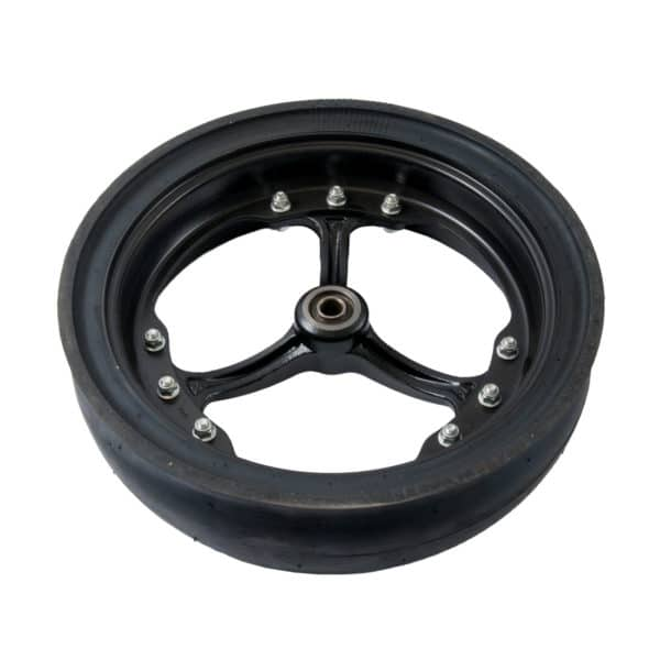 Carlisle Spoked Rubber Wheel - Rear