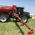 Recon SpreadSense Monitor installed on Case-IH 810 floater