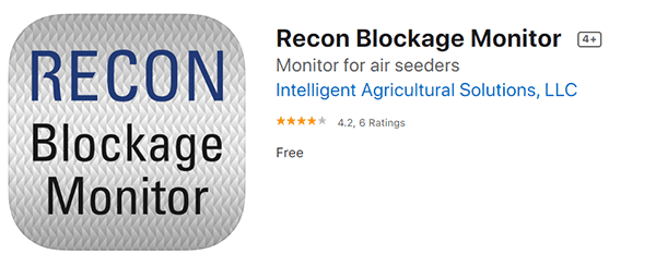 Recon Blockage Monitor app