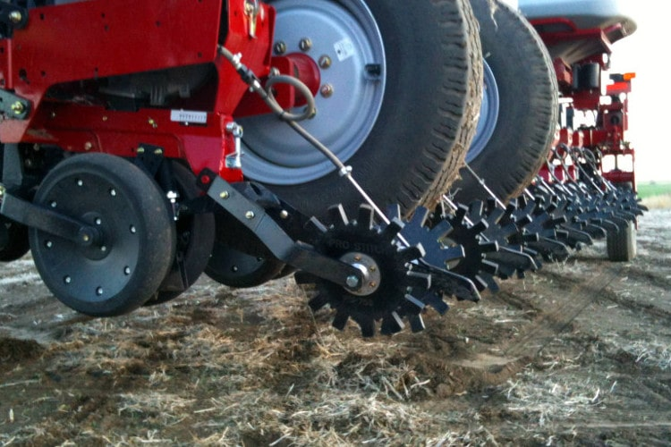 Case IH Planter Conversion for closing wheels by Pro-Stitch