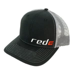 Red E Hat - Black